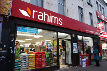 Rahims - mile end branch, east london